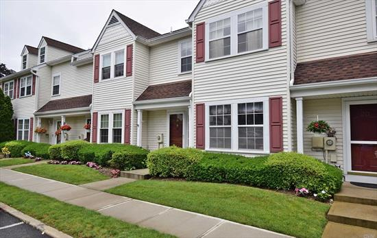 Beautiful Updated Townhome. This Is The Largest Unit In The Complex. Newly Painted and Custom Moldings Throughout. 2 Wic In Mbr, Large Eat In Kitchen W/ Wood Cabinets & SS Appliances. Updated Baths, Large Loft For 4th Br Or Family Rm W/ Storage. Large Closets & Extra Storage. Deck W/ Private Yard. Great Location, Walking Distance To All. *2021 tax reduction, Taxes were re-assessed by Nassau county for 2021 Tax season expecting reduction*