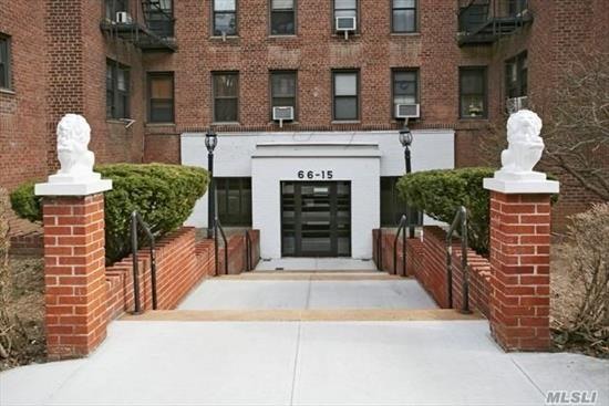Large Studio Apartment with a Separate Kitchen in the heart of Rego Park, close to trains and buses easy commuting to Manhattan , walking distance to Department Stores in Queens Blvd , minutes from Queens Center Mall , enjoy the quietness of this building , applicants must submit application to the board in order to be considered as a prospective tenant , sufficient income and 700 and up FICO score candidates will be consider. One year lease is being offered, Cats are welcome. Parking NOT included