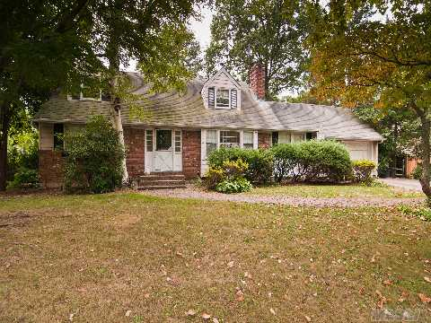 Major Price Reduction!!! Don't Miss This Fabulous Opportunity To Enjoy All That Glen Cove Has To Offer In This Spacious 4 Bedroom, 2 Bath Cape Set On 1/2 Private, Park-Like Acre. Beach/Golf Privileges. Convenient To Shopping And Train. Needs Updating.