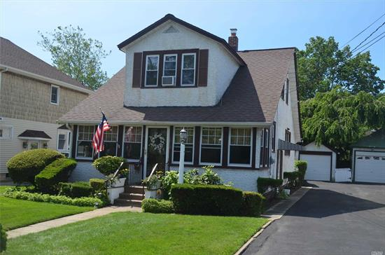 ** SUMMER SPECIAL **  Charming 3 Bdrm Dutch Colonial located in PRIME So. Baldwin location, Just 1 Block from LIRR. This home features a fully fenced & landscaped backyard, large LR, fully enclosed & finished front porch, large Kitchen w/ eat in area. New gas heating boiler and a fully enclosed back porch. Make this your next home before the GREAT Baldwin School Year starts in September.