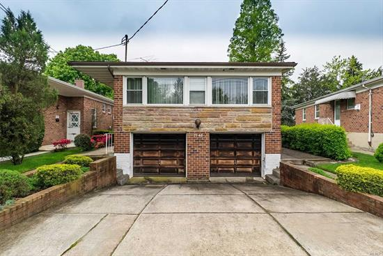 Are you looking for a move-in ready, spacious home? Then look no further than this brick hi-ranch featuring 3-4 bedrooms and 2.5 baths. Situated in a prime location in the community, close to schools, St. John's University, mass transit, major highways and houses of worship.