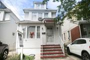 Nice Property In Very Desirable Location. Heart Of S.Ozone Park. Close To Worship Place, Transportation, Market, Grocery, Laundry. Ideal For First Time Home Buyer