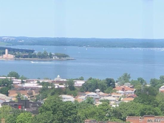Fabulous Bay Club Gated Community. 24 hr. security. Doorman/Concierge. Amazing Super 2 bedroom / 2 bathroom fully renovated unit. Open floor plan.Largest 2 bedroom unit in the Bay Club... Over 1500 sq. ft !!! Maple kitchen cabinets. Stainless steel appliances. Wood floors. Direst water view from all rooms! Yr. round swim/fitness center & indoor parking (extra fees). Free tennis club. Underground stores. On premises restaurant. Children's playgrounds. Basketball courts. & much more !!!!!!