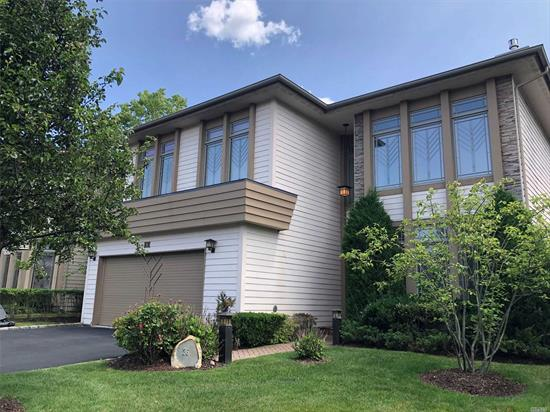 Perfect, spacious and mint 3+ bedroom home in gated luxury community in Jericho. Gas Fireplace, Hardwood Floors Living & Dining Rooms, Volume Ceilings, Walls of Windows, Walkout Basement, Large Trex Deck + Patio in Backyard.  Lease this beautiful home and enjoy the lifestyle at The Hamlet Estates at Jericho.