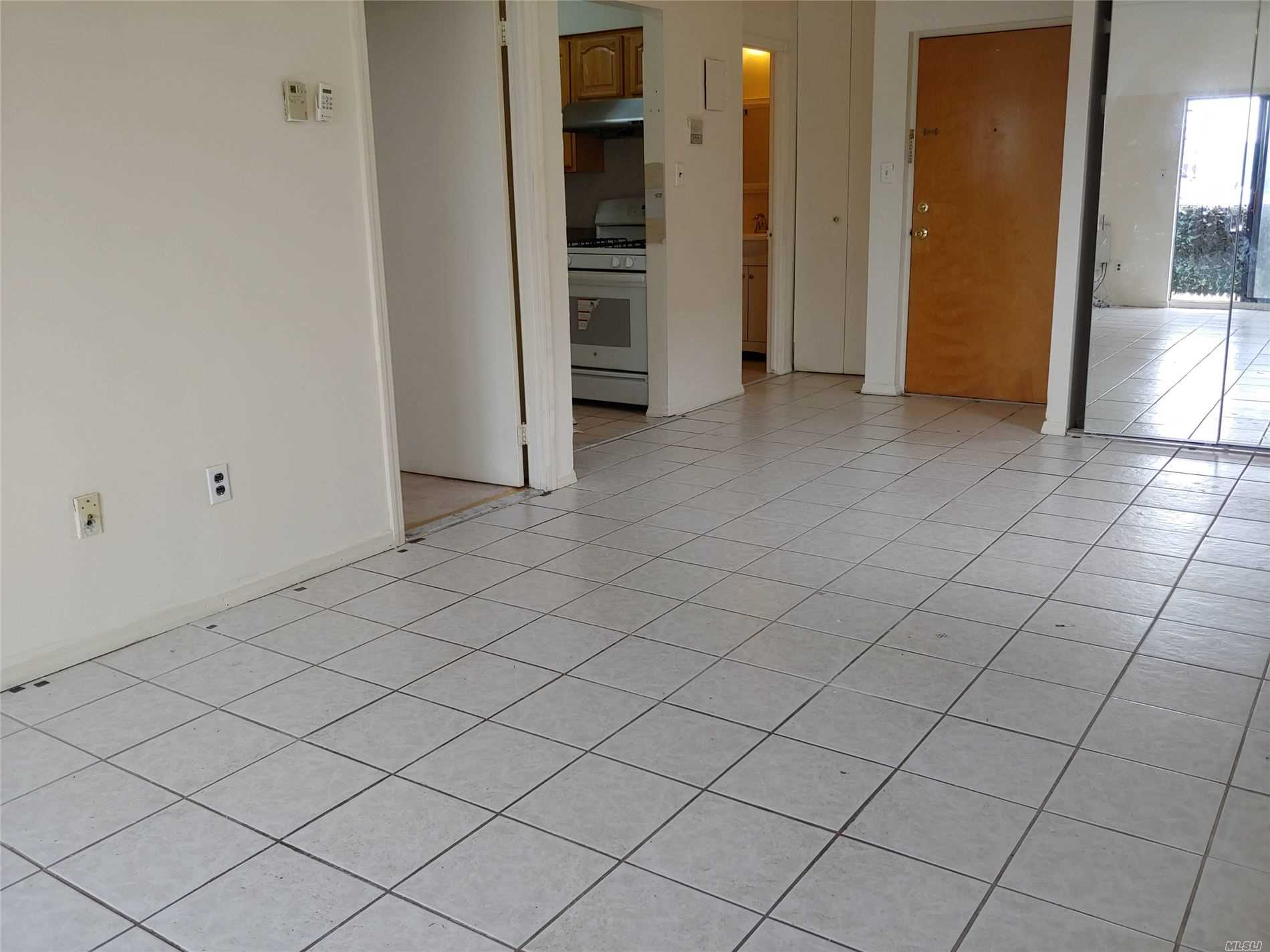 Near Douglaston Shopping Center, Townhouse Condo. Sunny Bright One Bedroom, Large Terrace has taking nice View, Private Laundry & Storage In Basement. Convenient to all...