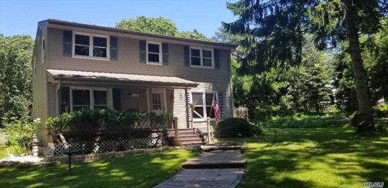 This Colonial Features 4 Bedrooms, 1.5 baths, freshly Painted, Stainless Steel Appliances, Hardwood Floors, Full Basement Partly Finished, Very Private Large Backyard, Fire Pit, I/N Ground Pool 18 x 36 With 1 Year Old Liner,