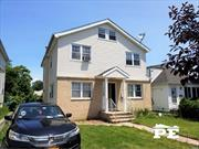 Welcome to 1396 Sweetman Ave, a beautiful 1 Fam home located in the heart of Elmont! 1st time on market! Fully Detached on a 40 x 100 lot! Private driveway & huge backyard! Excellent condition! This huge home offers a 4 bedroom duplex (all large rooms) plus full finished basement. First floor has a LR, DR, EIK, Den & a bath w/shower. Upstairs you have 4 big bedrooms & 2 baths. Full attic for storage. Finished basement with family rm, guest rm, kitchenette, laundry & 1.5 baths! Huge backyard!