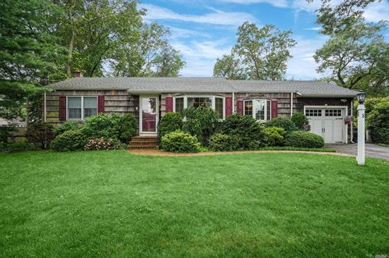 This Nicely Kept Ranch Style Home Sits On A Quiet Tree Lined Street In Sought After East Northport-Northport Schools. The Home Offers- Hardwood Floors/ Crown Molding/Wood Burning Fireplace/Maple Cabinets/SS Appl's/Ceramic Tile/Anderson Windows/Updated Roof/200 Amp/Generator Hook Up. Enjoy Sitting In The Sun Room Overlooking The Quiet Yard.