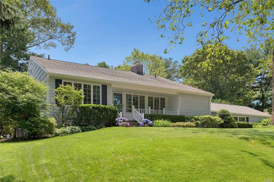 This immaculately updated Split is located on a professionally landscaped half-acre on a quiet, tree-lined street in desirable Marble Hills with a 4 Car Garage, and gorgeous in-ground pool.