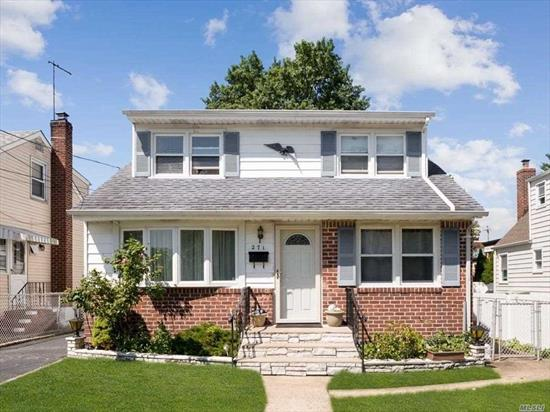 Charming Cape On Tree Lined Street In The Heart of Mineola. This Lovely Home Offers 4 Large Bedrooms, 2 Full Baths, Updated EIK, Family Room, Large Finished Basement, Sunroom and So Much More. Close to LIRR, Winthrop Hospital, Restaurants, Shops and Schools- A Must See!