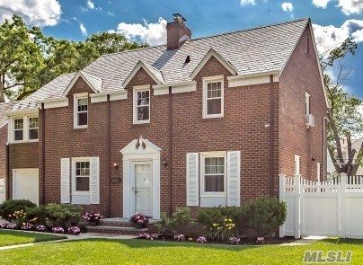 Beautiful and Stately Brick Colonial located in Sterns Park Featuring 2 Master Suites or the second master can be used as a den, 2 Fireplaces, Gas Heating & Cooking, Formal Dining Room, 2 updated baths, granite & stainless steel kitchen, hardwood floors, partially finished basement with fpl, mud room,  & large backyard with slate patio perfect for entertaining,  a truly lovely home
