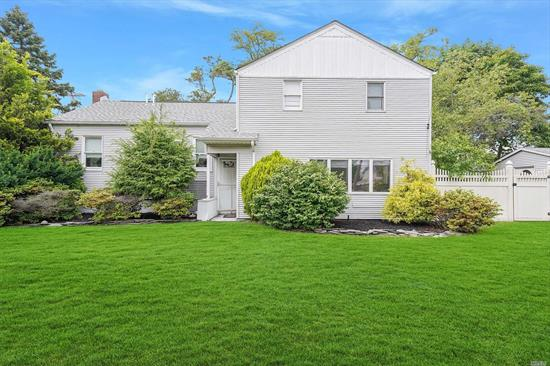 Pics are now up and so is our 3D video virtual tour!!! You must come see these beautiful 5br colonial in beautiful Lindenhurst. Updated over the last few years this house has it all!! Plenty of living space and amazing kitchen and bedroom sizes you will not be disappointed, especially with the great entertainers yard. Full basement framed out to be finished with bathroom framed out. Just add finishing touches! Owner says bring all offers! This wont last!!