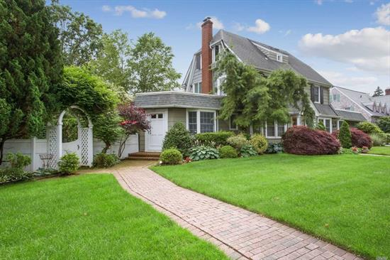 This is it! Curb Appeal, Stunning Neighborhood, Amazing Space in this 5 BR, 3full/2half bath Colonial in Bryn Mawr with Wilson Elementary. Large Private Office with 1/2 bath, pvt entrance, wetbar; LR w FP, FDR, Kitchen w large Breakfast area opens to Family Room..W/D on Main Level.Playroom in basement.  Beautiful landscaping and private rear yard w huge patio. 2 car det. garage. Great closets Roof 3 yrs old, current termite contract. Move right into this beautiful home.