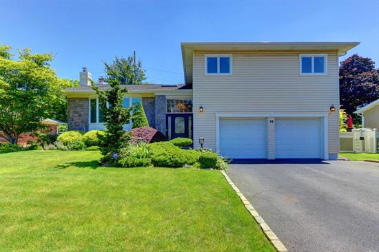 Immaculate 4 Bedroom, 3 Bath Split Level Home with Mid-Block Location. Renovated EIK, Large DR & LR, Den w/ Fireplace. Master Bedroom with Ensuite Bath, 2 Additional Bedrooms, Full Bath. Lower Level Additional Bedroom with Full Bath. 1 Car Garage. Pool with Patio.