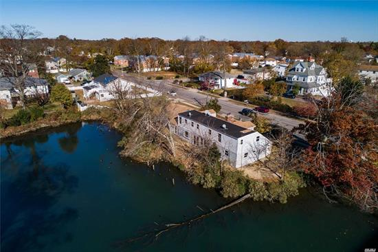 CASH ONLY! Great Investment Buy & Hold or Finish Your Dream Home on the Water! Expanded Ranch Approx: 2960 Sq Ft. Gutted & Ready to Finish, Plans Approved by TOB for: 4 Br's 4 Bths. House Plans Available, Fireplace in house but not represented by seller. New Roof, Helical Piles, Approx $125-150k to Complete project. Possible M/D w/Proper Permits, 2 Car Gar w/Attic Space from 2nd floor. House Located on Narraskatuck Creek. Beautiful Tranquil Scenery, No dock or Boating Rights, Large Lot 128x100