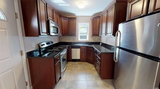 This Three Bedroom Rental Comes With A Washer And A Dryer, Beautiful Kitchen, Dining Room, Living Room, And A Huge Sprawling Back Yard. Close to train and downtown fun!