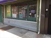 Location, Location, Location. Storefront Across From Supermarket. Ideal For Most Businesses.