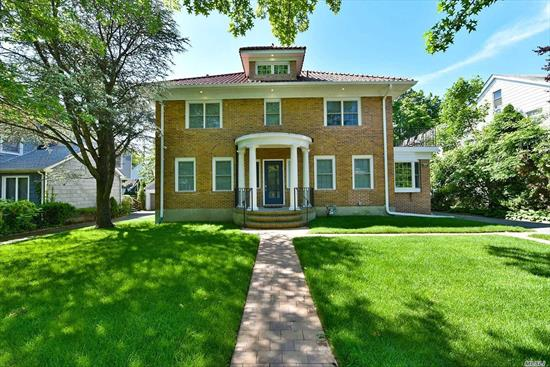 Move Right Into This Magnificently Gut Renovated CH Colonial In Prime Lawrence Location. Banquet Formal DR, Exquisite Gourmet Chefs Kitchen W/Pantry, High-End Stainless Steel Appliances, Main Level Den W/Fplc/Media Room, Grand Master Suite W/Full Bath & 2 Dressing Rooms, Sitting Room & Terrace. Finished Basement & Attic. Low Taxes, Close To RR, Shopping & Houses Of Worship.