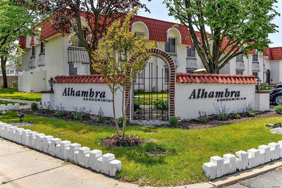 Alhambra Condominium. 2 Br Duplex W/ Private Patio, Living Room, Dining Room, Updated Kitchen, Very Large Mb, W/D In The Unit, Cac. Condo Amenities - Pool, Gym, Party Room And Sauna. Storage Room. Close To Shopping & Beaches. Comm. Charges Incl. Heat, Water And 1 Park. Spot, Second Is Waiting List