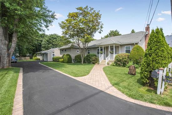 Meticulous Craftsmanship Shows in Every Detail of this 3 BR, 2 Bath Home. Plus Detached Bright, 1 BR Cottage W/Vaulted Ceilings. Sprawling Park Like Grounds Complete This Unique Home. Must See to Believe this Beauty!