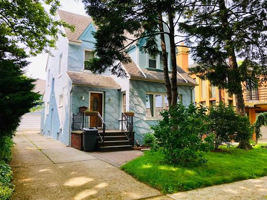 This Charming Colonial Concrete Structure House In The Thriving Section Of Rego Park. Owner Dedicates Renovated This House Inside Out With His Craftsman Skills & Maintains With High Standards. This Legal 2 Family House & Owner Occupy As One, Situated On A 4000 SQFT Lot & 25 X 53 Building. 1st. Fl, Offers A Living Rm, Kitchen, Formal Dinning Rm, 2 Bed Rm, & Full-Bath, & 2rd Fl, 2 Bed Rm, Kitchen, Full-Bath, 3rd Fl, 1 Large Bed Rm, Basement, A Fitness GYM