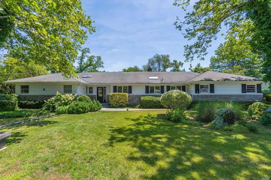 Enjoy peaceful island living on what was formerly part of JP Morgan's estate. This sunny 3 Bedrm Ranch, with gunite heated pool, patio & large deck, on .8 professionally landscaped acres, is perfect for relaxing and entertaining. Swimming, Kayaking and Beach Rights just out your front door w/HOA dues. Golf & Tennis Nearby. Short distance to shopping, YMCA and train.