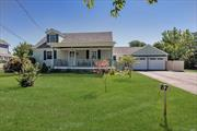 Wonderful water views & immediate proximity to the Maritime Museum Property; this spacious cape on .60 acre lot is the perfect place to enjoy South West Sayville living! Rocking chair porch welcomes you. Inside you have hardwood floors, large living spaces & bedrooms, 2 full baths, laundry on the first floor & additional in basement. Pretty country kitchen, formal living room plus family room. Beautiful water views from the 2nd story bedroom. Once a mother/daughter-easily converted back.Must see!
