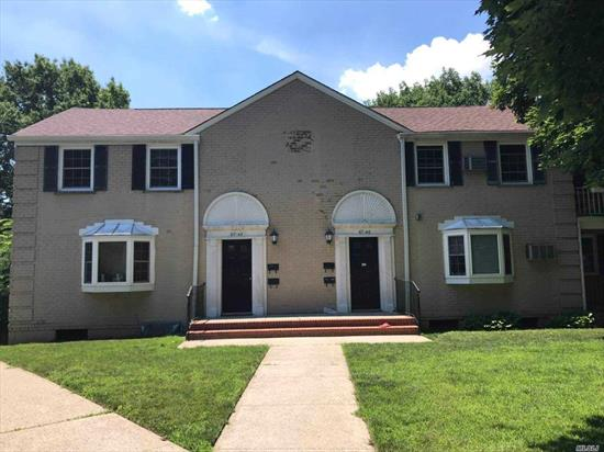 Price Reduced to Sell....Location, Location, Location...No Flip Tax...Nice and Clean One Bed Room Garden Apartment Located In a Beautiful Courtyard on A Quiet Street. Updated Windows. Hardwood Floors. Easy Access to Major Highway. Walk-in Distance To Schools, Shopping, Restaurants & Buses: Q27/Q30/Q88. Maintenance Includes All Excepted Electric. Pets Friendly. Parking $55/Outdoor, $110/Garage. Sublet After 2 Years.