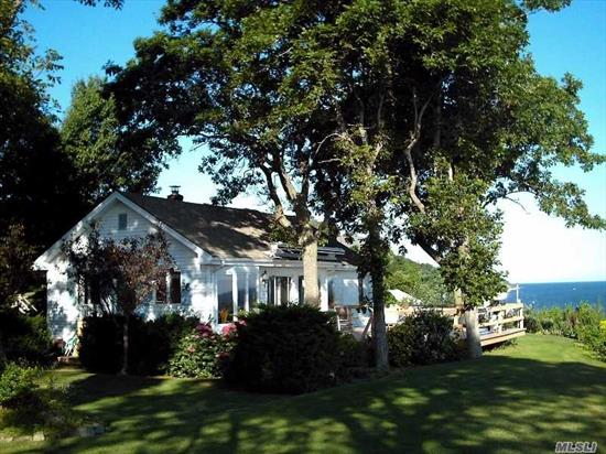 Beautiful 3 Br, 2 Ba, Waterfront On Li Sound. Steps To Beach. Park-Like Landscaping. Quick Stroll To The Beach. Grill Dinner On The Deck. Watch The Sunset. Fall Asleep To The Sound Of The Waves. Furnished. Sprinkler System. Washer & Dryer. Vaulted Ceilings. Open Kitchen/Dining/Living. No Garage-Street Parking. $2950 + Utilities + Yard Maintenance. Lease (Sept. To May). Ns. No Pets.