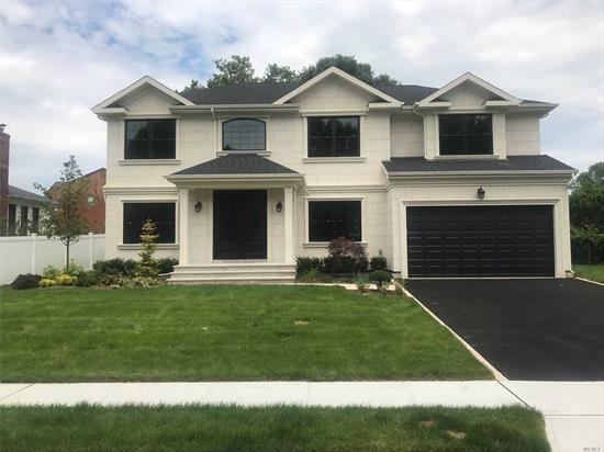 Move In Ready New Construction!! Extraordinary Stucco Home Exudes Class and Elegance Beyond Compare, Unique Luxurious Appointments, Suitable for Multi-generational Family.Oversize Property in Desirable Jericho SD. Impressive 6 Bedroom, 4.5 Bath Center Hall Colonial
