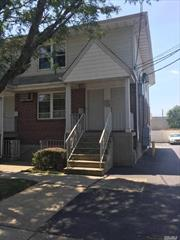 Brick Building with 2 car paking spaces for the Unit. Walking distance to all Shopping areas and Public Tranportaion. 3 Blocks from LiRR of Valley Stream Station which goes Directly to PENN Station. The apartment is located on the 2nd floor.