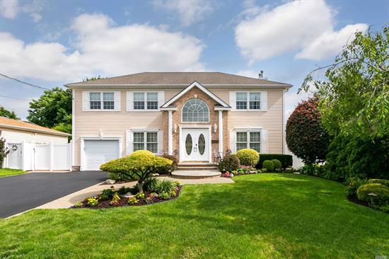 This Stunning, Turn Key Centerhall Colonial Checks Every Box for Move in Ready Buyers! Charm & Elegance Abound From First Steps Into 2 Story Grand Entry! Gleaming Hardwd Flrs! FDR, LR, Den w/Gas Fplce, EIK w/Cherry Cabinets, Granite Counters, Upstairs Expansive Master Suite w/WIC & MBath, 3 Large BRs, Full Bath. Backyard is an Entertainers Dream w/IG Kidney Shape Pool w/Waterfall! Mature Plantings for Privacy and Large Paver Patio! Updated Anderson Windows, IGS, Gas Heating, CAC, Low Taxes!