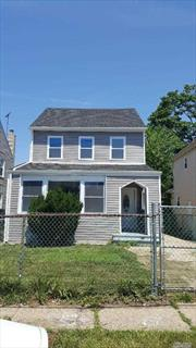 Completely redone house with new flooring, kitchen with new appliances and cabinets close to Hofstra University and local stores and public transportation. 4 bedroom spacious and open floor plan with basement and a 2 car garage.