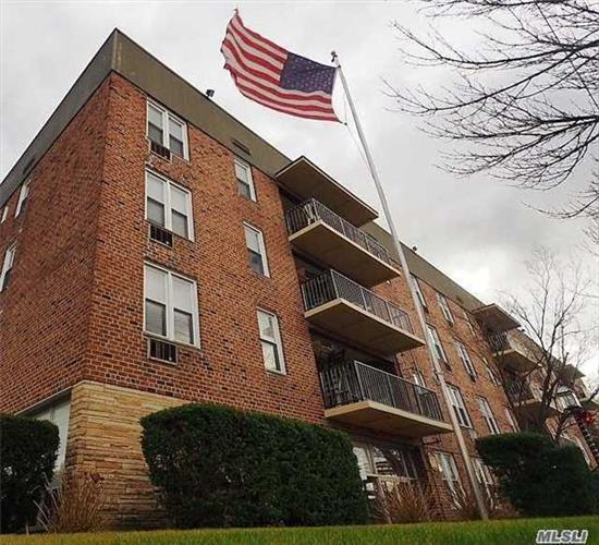 Updated/renovated TOP floor one BR Coop, Enjoy pool side deck, heated in ground pool, Laundry Rm, the Heat, water and cooking gas are all included in the maintenance !! Lots of closets, Parking is Free, unsigned in outside parking lot, indoor parking available $50 on a waiting list, Few blocks from Trains, near parkways and shopping !