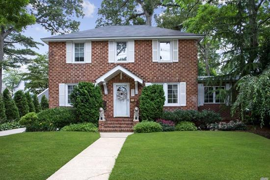 Enjoy The View Of This Stately Brick Colonial In The Prestigious Harvard Area Before Entering Your Next Home! Well-Maintained Home Boasts Large Formal Living Room With A Fireplace, Formal Dining Room, New Eat-In-Kitchen With Stainless Steel Appliances, Large Family Room Overlooking The Attractively Landscaped Backyard And Office. Three Large Bedrooms On The Second Floor With An Updated Hall Bath. Attic And Basement Provide Ample storage!