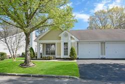 One of the best 55+ complexes in Suffolk County! Leisure Glen is the newest of the Leisure Communities. Pet friendly, safe, clean, very well maintained living environment. Located on a cul-de-sac, this large Bedford unit has been beautifully updated. The eat in kitchen features custom granite countertops and all stainless steel GE appliances. The master suite features a full bathroom and large walk-in closet. Vaulted ceilings throughout. In-ground pool, tennis courts and large activity center.