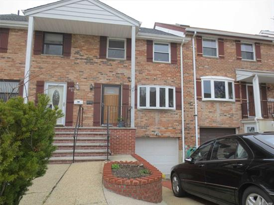 This South Facing House Features 3 Bedrooms , 2 1/2 Bathrooms, Living Room, Dinning Room And Eat In Kitchen.Renovated Bathroom on 2nd Fl. Hard Wood Floor Throughout. Can Access To Deck From The Kitchen Through Sliding Door. Full Finished Attic Of Living Space With Skylights. Full Finished Basement. Located In Great Area Of Douglaston. Close To Fairway Super Market, Bus Stop For Queens Bus/Express Bus To Manhattan. 8 Mins to LIRR Station ( By Car). 26 School District.