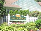 Sunrise Village 55 and older community close to sayville town with all its amenities. Generous size rooms, freshly painted, patio for outdoor entertainment, attached garage. Treed walking paths, IG pool, clubhouse , gym and jitney to local stores and malls.