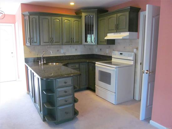 Small very nice one small bedroom, with Kitchen, LR w/ Gas FP and French Doors and Full Bath