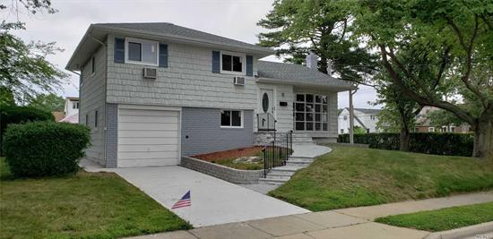 Beautiful Fully Renovated Split Level. New Roof, Siding, Windows. Stone Pavers Walkway And Stoop. All New Kitchen, Granite Counters, Stainless Steel Appliances. 2 New Bathrooms With Custom Tile Work. Refinished Hardwood Floors. Private Dead End Block.
