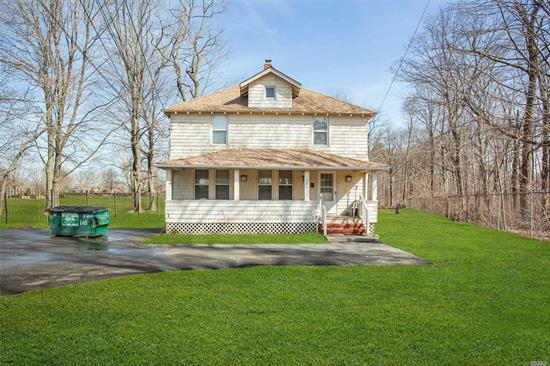 True Farm House! Fantastic 4 Br Home Is Centrally Located To All. House Is Generator Ready, Updated Burner And Oil Tank, Driveway Done Approx. 1 Year Ago.