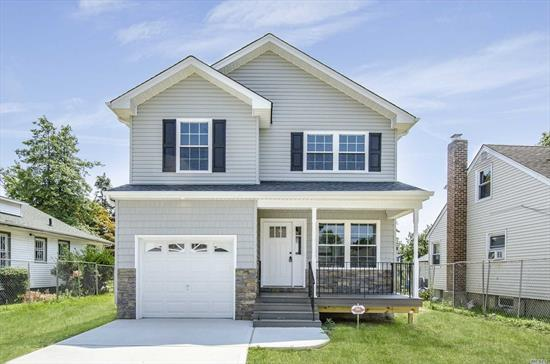 New Construction features 4 Bedrooms 2.5 baths full basement gas heat 1 car garage Wood Floors throughout Oversized property