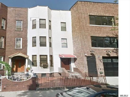 Very rare legal 3 family for sale in the area*****5 mins walk to the R train. Next to the hospital. Great investment opportunity and income potential. Has the potential to expand and extend like the bldg next door. Super low property taxes. Separate utility meters. Currently all owner occupied. House was rebuilt around 1990. Roof recently redone. All info for ref only, verify on own with lawyer and architect before buy.