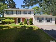 Beautifully Expanded Gladstone Colonial In The Desirable S Section of Stony Brook. This Residence Boasts Updated Eik W/ Stainless Appliances, Huge Family Rm W/Fireplace, Formal Living Rm W/Fireplace, Master Bedroom Ensuite, Separate Laundry Rm, Gleaming Hardwood Floors Throughout, Crown Moldings Galore & New Shed. Minutes to LIRR, beaches, && Stony Brook University Hospital.Picture All This & More Set On A Fully Fenced Lot W/ Inground Sprinklers in the Three Village SD.