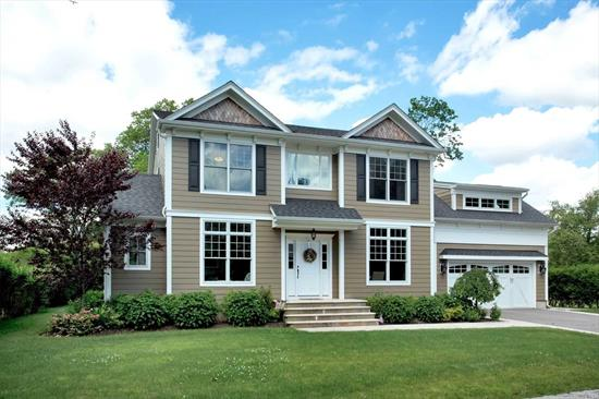 Stunning 3, 300 Sqft Colonial in the Argyle Section of Babylon Circa 2014... Entry Hall, Living Room, Den w/Gas Fireplace, Eat In Kitchen, Formal Dining, Master Bedroom w/Radiant Heat Full Bath, Walk-In Closet & Sitting Room, 3 Additional Bedrooms & Full Bath... All Oakwood Floors, Beautiful Trim & Moldings, Central Air, Full Basement with 9' Ceilings, Limestone Patios & 2 Car Attached Garage... You Won't Want to Miss This One!