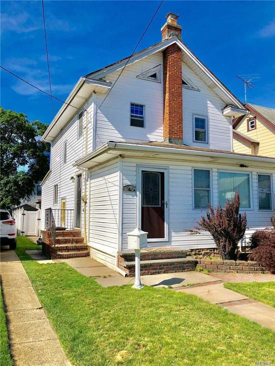 1 bedroom apt, 2nd floor of a legal 2 family home,  a few blocks to Merrick Road, freshly painted and new flooring, attic storage and all utilities except Cable/Phone included. . .