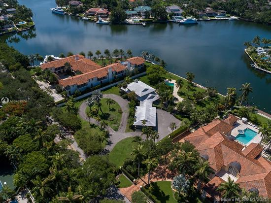 Introducing For The First Time In Over 50 Years, The Finest Property Available In Gables Estates To Design And Build A Waterfront Masterpiece! Located In One Of The Most Coveted, Guard Gated Communities That Miami Has To Offer, This 65, 000 Sq/Ft Property Encompasses The Essence Of Waterfront Living! The Back Of The Property Faces South, Towards A Wide Lagoon With Breathtaking Views And Southeastern Breezes, Providing Ideal Sunlight And Ample Privacy. A Yachtsman'S Dream, This Vast Property Has 200 Ft Of Water Frontage And Is Located On A Wide, Deep Water Turning Basin With Unobstructed Access To Biscayne Bay! The Home, Built In 1963 Includes 5 Bedrooms, Three Full Baths And One Half Bath. Renovate, Expand Or Redevelop This Amazing Waterfront Property Into The Home Of Your Dreams!