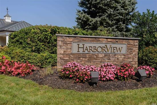 Fabulous Turnkey Capri Villa in Harbor View a 55+ Gated Community. Luxurious in Every Way. Beautiful Master Suite on First Floor, Gourmet Kitchen, Oversized Formal Dining Room and 2 Story Living Room with Fireplace. Second Floor Features 2 Bedrooms and 2 Full Baths and Bonus Room. Numerous Upgrades including Full Laundry Room, Brick Patio, and Custom Closets. Clubhouse, Pool, Gym and 24 Hour Security.
