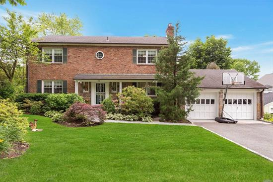 Opportunities Abound! Beautiful Brick And Fieldstone Center Hall Colonial Just Outside Of Munsey Park. 5 Br/3.5 Baths. Completely Updated And Re-Landscaped. Private Rear Yard. Possibilities For Mother/Daughter Or Professional Office With Proper Permits. Short Distance To Train And Town.