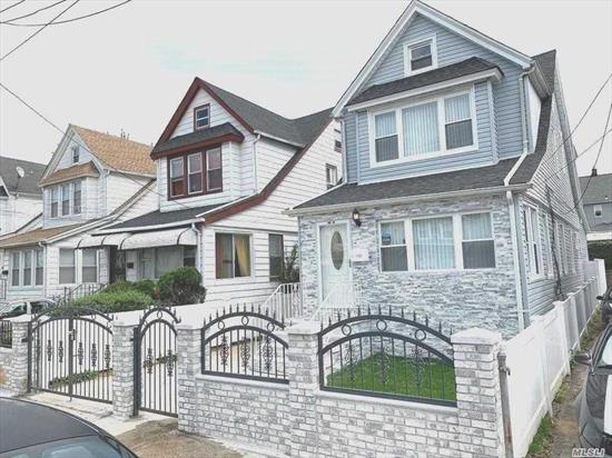 Renovated Open Concept, Colonial with 4 generous bedrooms, 3 Full bath, Eat in kitchen with center island, 1st floor bedroom with rain/massage shower, hardwood floors, Full finished basement with separate entrance.